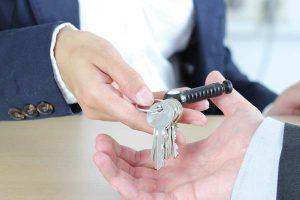 Remise d'une clé