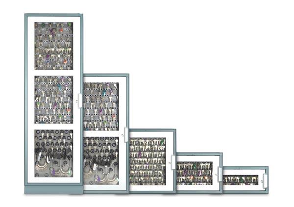 armoires flexx de différentes tailles et variantes