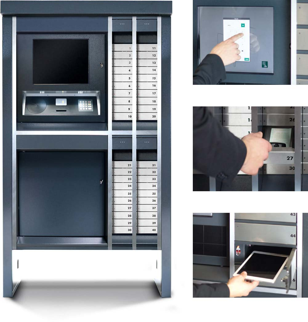 bloxx système modulaire pour la gestion d'objets
