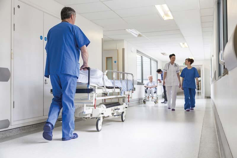 Traçabilité des biens matériels tels que les lits d'hôpitaux