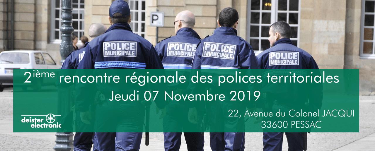 deuxième rencontre régionale polices territoriales