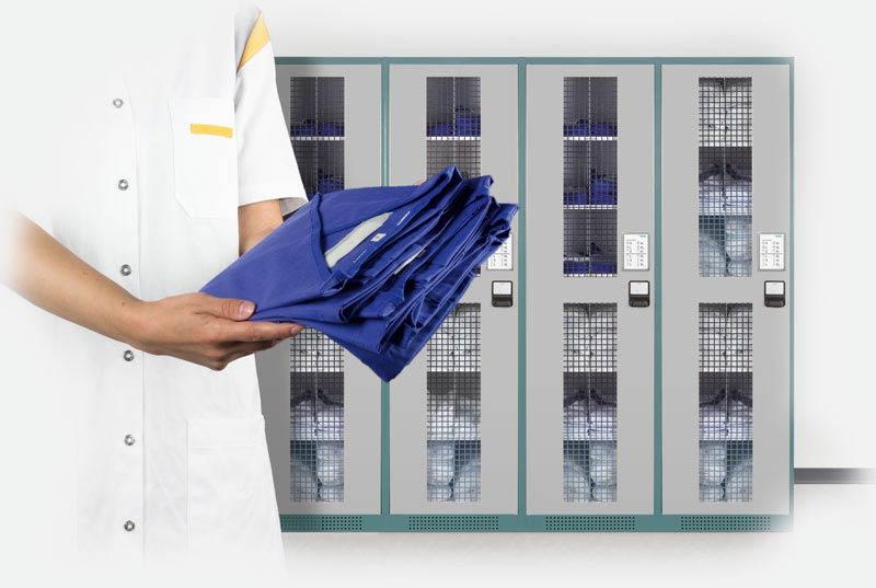Gestion des vêtements et de l'équipement textile de travail